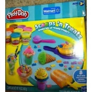 Mainan Doh And Play 28060 N modeling dough set on store play doh scoops n treats