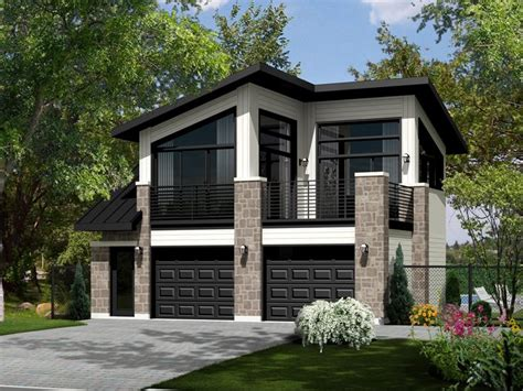 modern garage apartment floor plans carriage house plans modern carriage house plan 072g