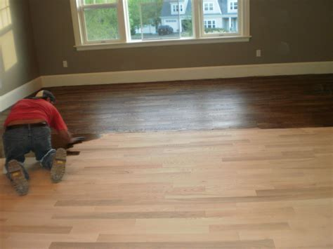 staining hardwood flooring ma refinishing wood floors staining wood floors installaton boston ma