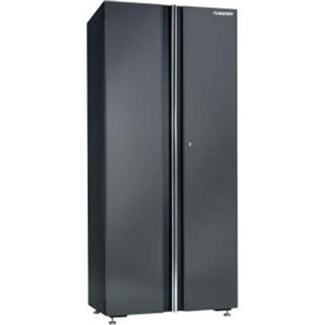 Husky 32 Steel Cabinet by Husky 32 In Floor Cabinet 32fc01bp Thd The Home Depot