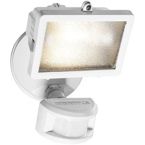 brinks 180 degree halogen motion activated security light