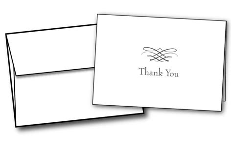thank you letter after envelope simple thank you note cards 48 cards envelopes