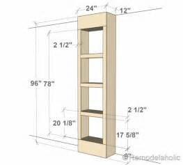 Build A Bookcase Door Free Plans For Built In Bookshelves