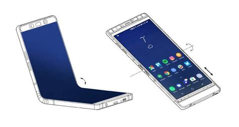galaxy x might just be another galaxy note 8 in screen size but with two halves instead of a