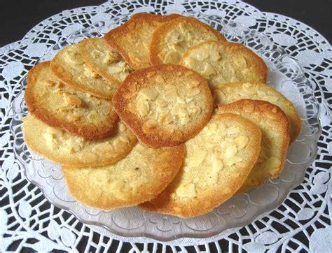 Tuiles Amandes by Tuiles Aux Amandes Ma Cuisine Sant 233
