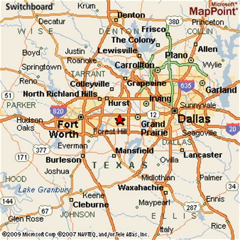 texas map arlington arlington texas