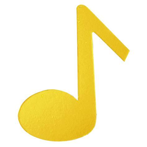 imagenes de notas musicales en colores deco nota musical color amarillo decoraci 243 n en decowoerner