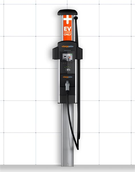 build your own ev charging station chargepoint ct4013 ev level 2 charging station single port