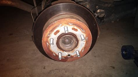 2006 hyundai elantra rear brakes unable to remove rear brake rotor on 08 hyundai elantra
