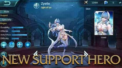 Kaos Ml Hayabusa by Mobile Legends New Support Zyelle Light Of