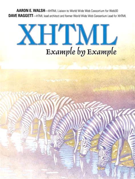 xhtml exle xhtml exle by exle informit