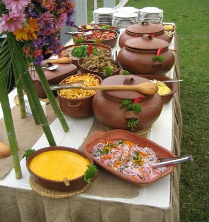 buffet pots and catering on pinterest