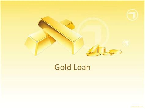 ppt templates for loan gold loan authorstream