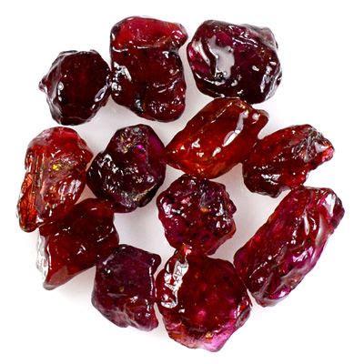 Ruby 6 17crt No Heat Madagaskar ruby lot 5 to 9mm 14 60ct 12