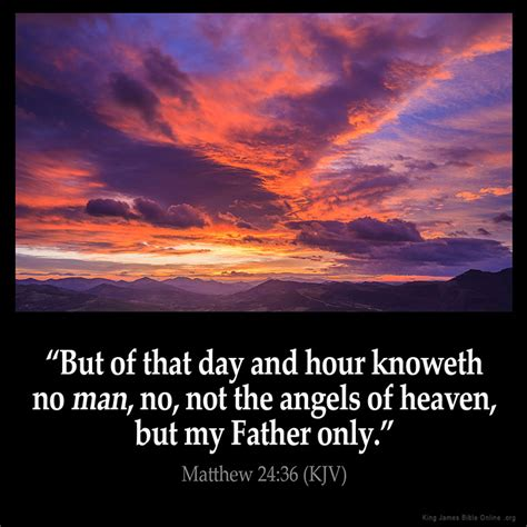 on the s side of heaven books matthew 24 36 inspirational image