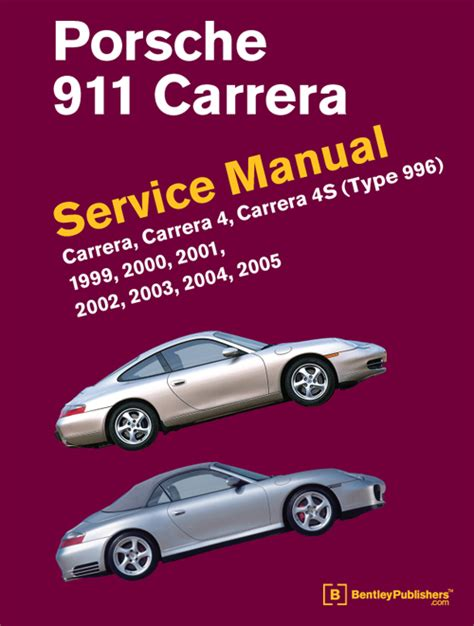 service manuals schematics 1999 porsche 911 free book repair manuals front cover porsche 911 996 1999 2005 repair information bentley publishers repair