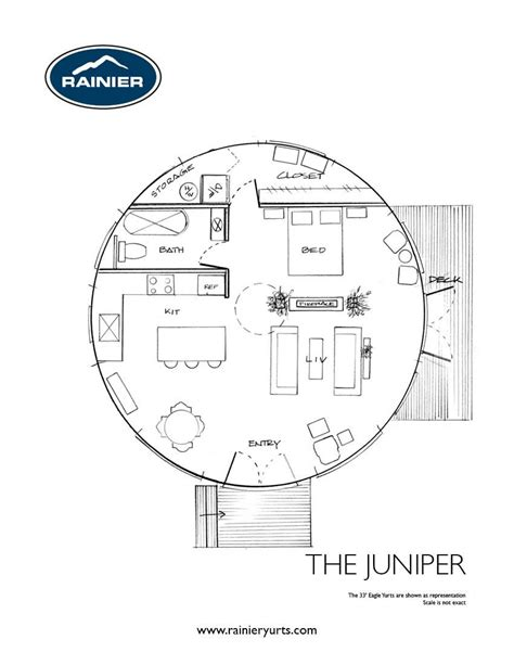 yurt floor plans interior yurt floor plans rainier yurts yurts homes pinterest