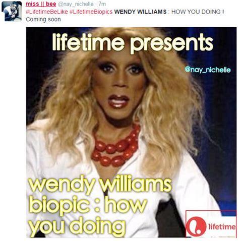 Wendy Williams Memes - ctfu twitter roasts wendy williams lifetime over