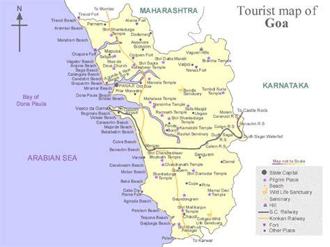 resort goa map goa maps resorts in goa