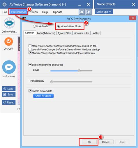 discord voice changer pc call voice changer