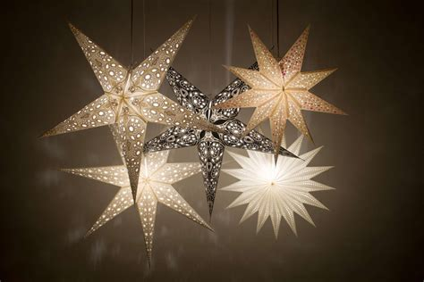 christmas lights journal star deluxe paper light shades hanging ceiling lshades decorations ebay