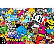 Sticker Bomb Wallpaper HD  WallpaperSafari