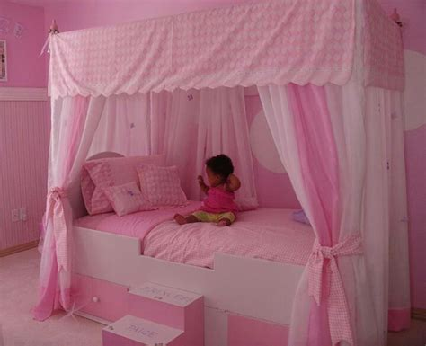 girl canopy bed curtains princess canopy bed ashlyn s room ideas pinterest