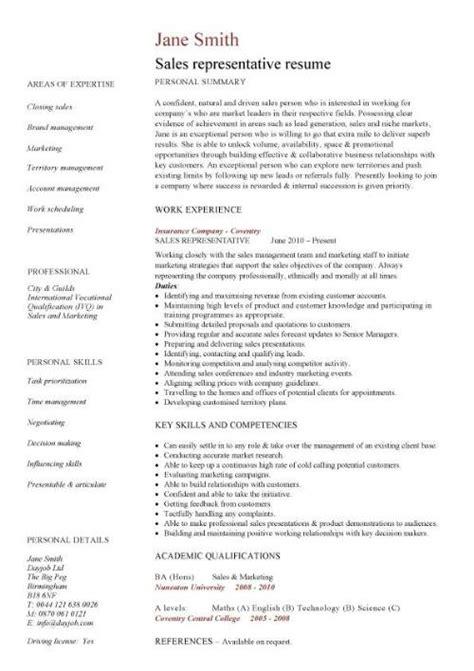 example sales rep resume samples visualcv database representative
