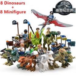 Lele Dinosaur World Jurassic World compra tyrannosaurus rex juguete al por mayor de