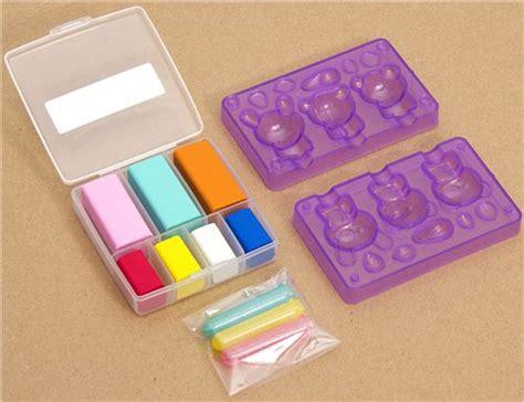 Decorate Pencil Box by Diy Eraser Making Kit For Pencil Caps Kawaii Animals Diy