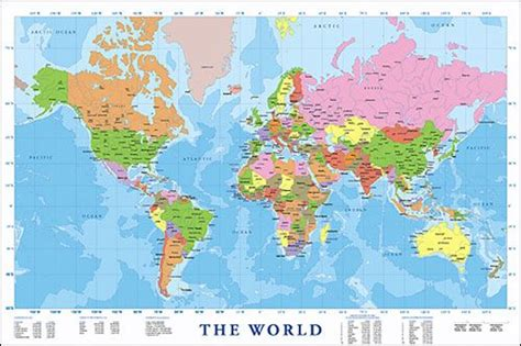 printable world map 8 1 2 x 11 large modern map of the world map it out compass