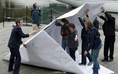 origami boat london giant paper boat in england xcitefun net