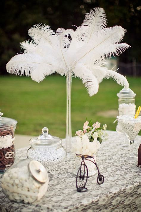 Vintage Backyard Wedding Ideas Kara S Ideas Vintage Backyard Wedding Table