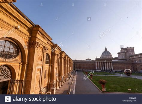 cortile belvedere cortile belvedere stock photos cortile belvedere