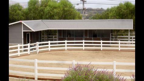 shaped shedrow horse barn youtube
