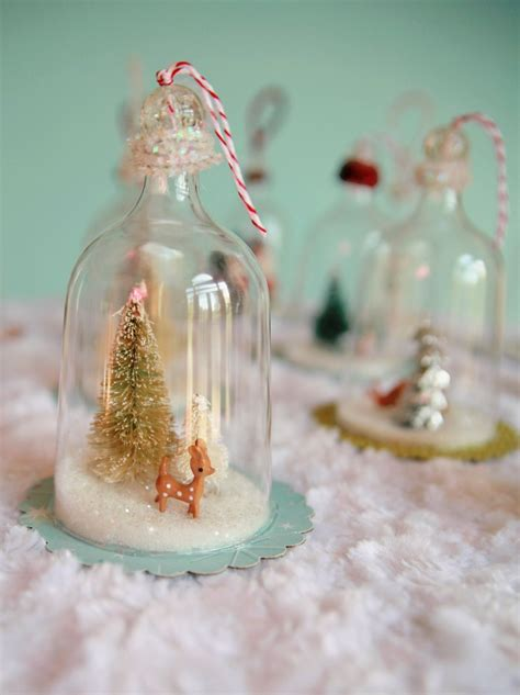 diy ornaments diy vintage inspired bell jar ornaments my so called