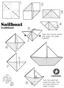 Origami Boat Instructions With Pictures » Home Design 2017