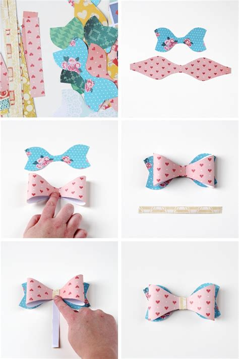 How To Make A Bow From Paper - diy paper bows gathering