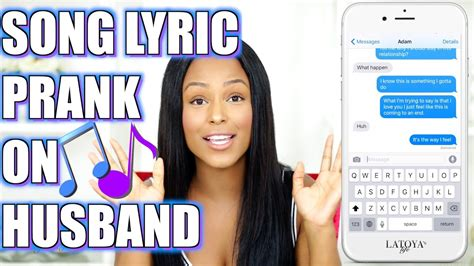 lyrica husband song lyric prank on husband official latoya forever website