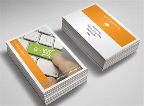 ecommerce business card template ecommerce business consulting business card template metric