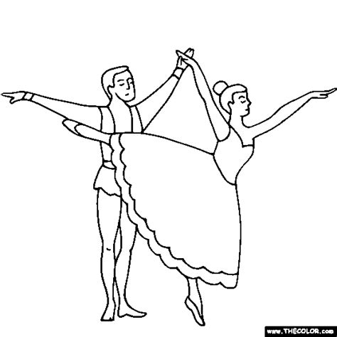 ballet color pages ballet coloring pages