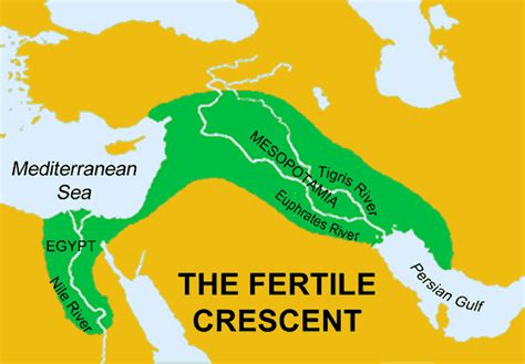 fertile crescent map ancient mesopotamia food newhairstylesformen2014