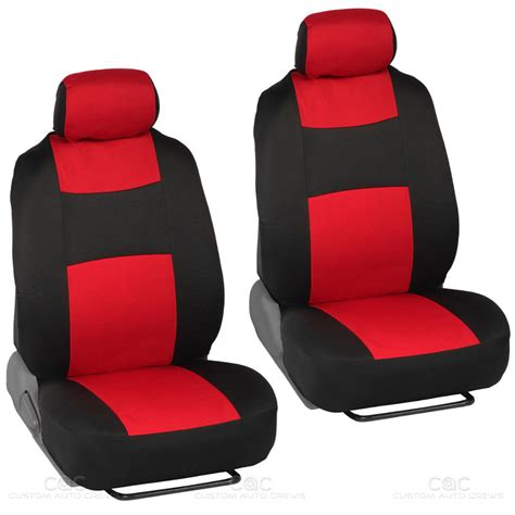 Car Mats For Seat by 14pc Car Seat Covers Set Bench Black W Pu