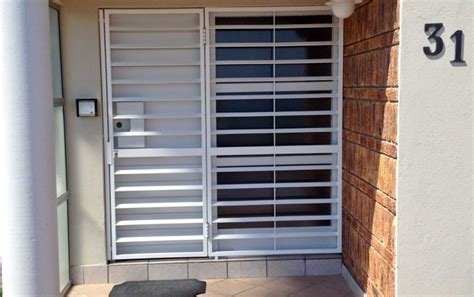 shutterway security gate for a home entrance shutterway