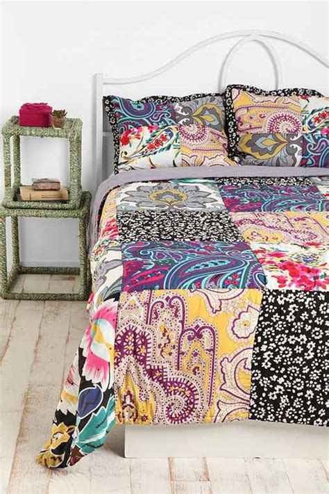Paisley Patchwork Quilt - paisley patchwork quilt outfitters