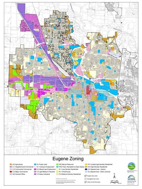 City Of Zoning Search Zoning Map Eugene Or Website