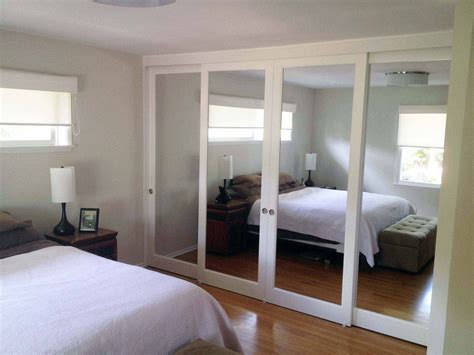 how to remove mirror sliding closet doors for new look