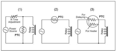 ptc resistor circuit durable lighting switching ptc thermistor chip thermistor for preheated start