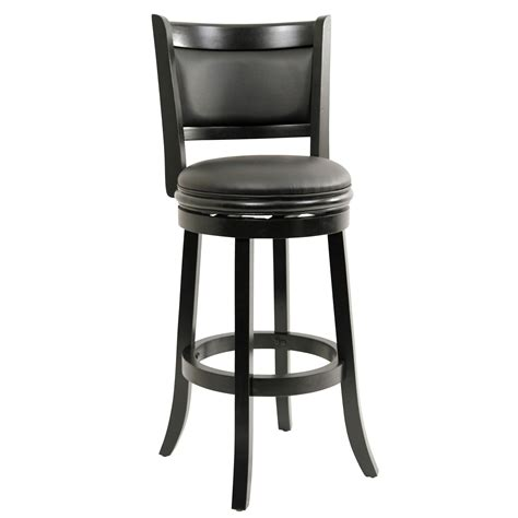 boraam augusta 29 in swivel bar stool contemporary bar stools and counter stools by hayneedle boraam augusta 29 inch bar stool black