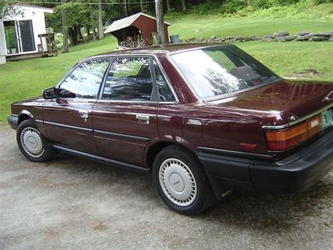 Toyota Camry 1988 Purchase Used 1988 Toyota Camry 24000 From New Never